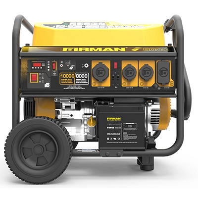 Firman 10,000W Peak/8,000W Rated Gas-Powered Portable Generator with Remote Start
