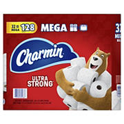 Charmin Ultra Strong 286-Sheet 2-Ply Bathroom Tissue Mega Rolls, 32 pk.
