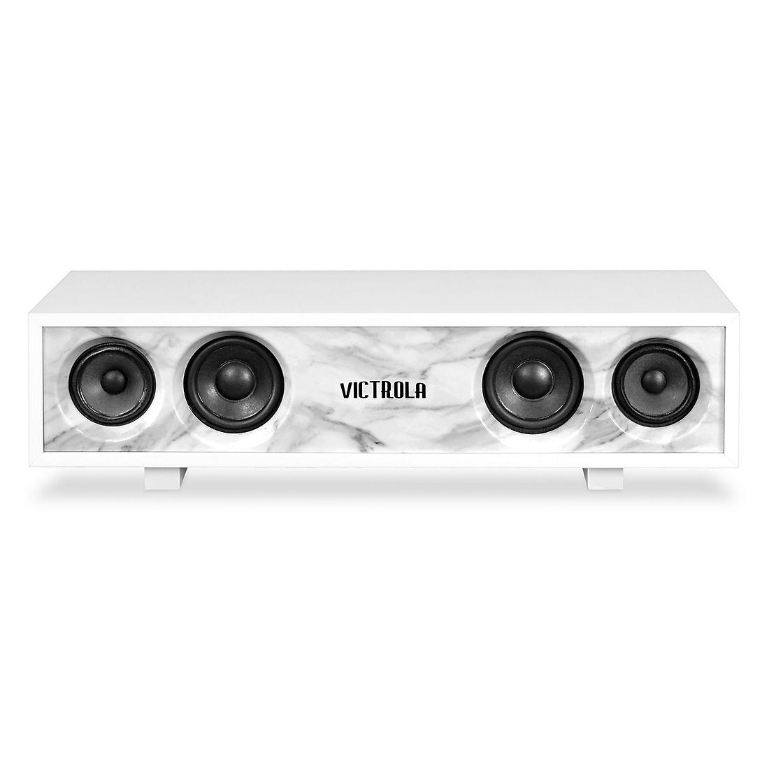 Victrola Hi-Fi Bluetooth Speaker - White