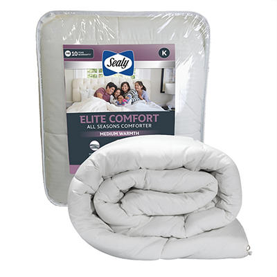 Sealy Elite Comfort All Season Down Alternative King Size Comforter