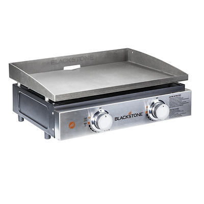 "Blackstone 22"" 2-Burner Tabletop Griddle with Cover"