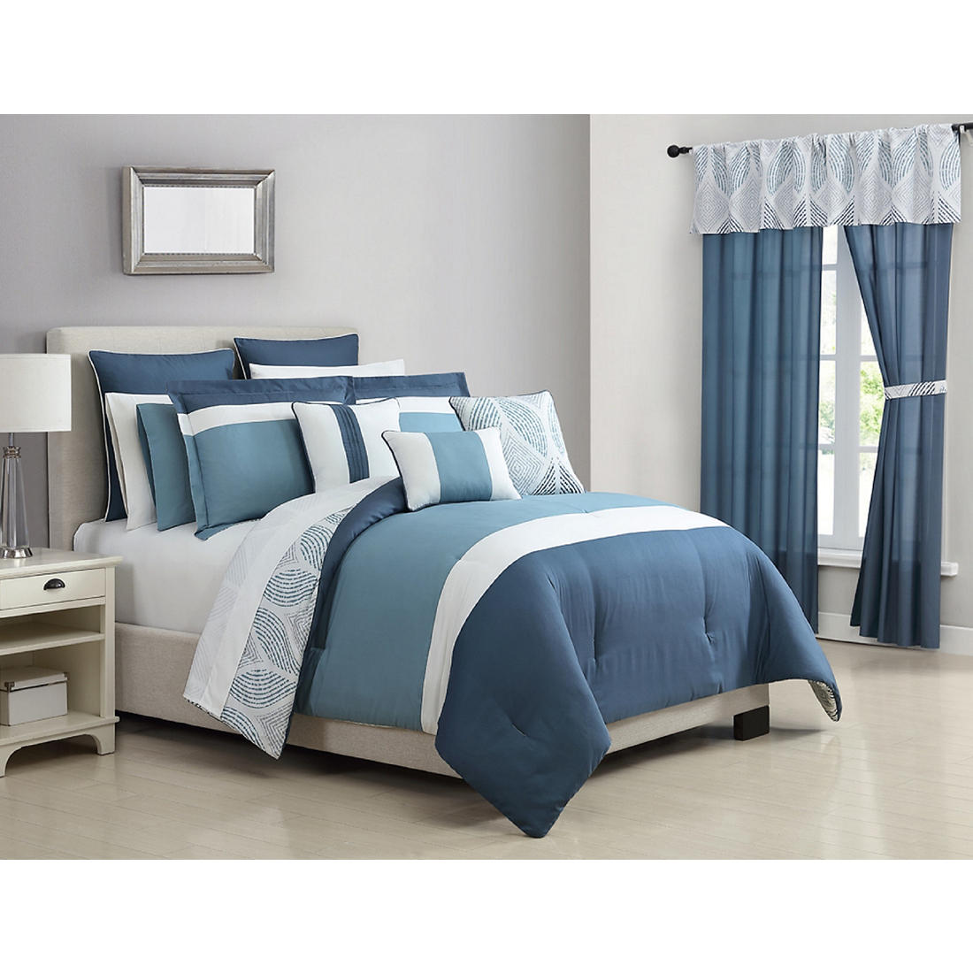 Somerville Home Collection Jessica Queen Size Comforter Set
