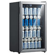 Emerson 115-Can/34 Wine Bottle Beverage Center with Temperature Control