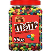 M&M'S Peanut Butter Pantry Jar, 55 oz.