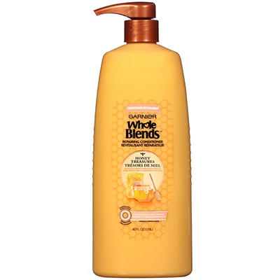 Garnier Whole Blends Honey Treasures Repairing Conditioner, 40 fl. oz.