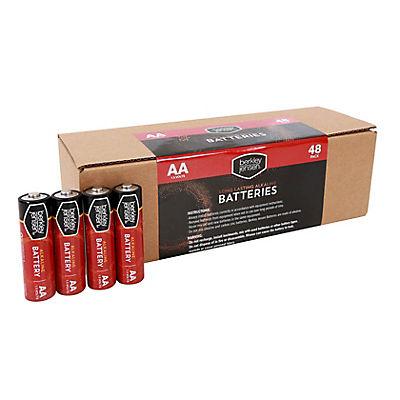 Berkley Jensen AA Batteries, 48 ct.