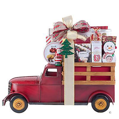 Houdini Metal Farm Truck Gift Basket
