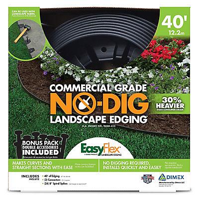 No-Dig Landscape Edging 40 Feet