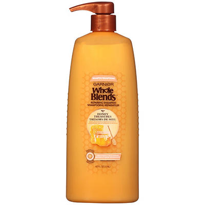 Garnier Whole Blends Honey Treasures Repairing Shampoo, 40 fl. oz.