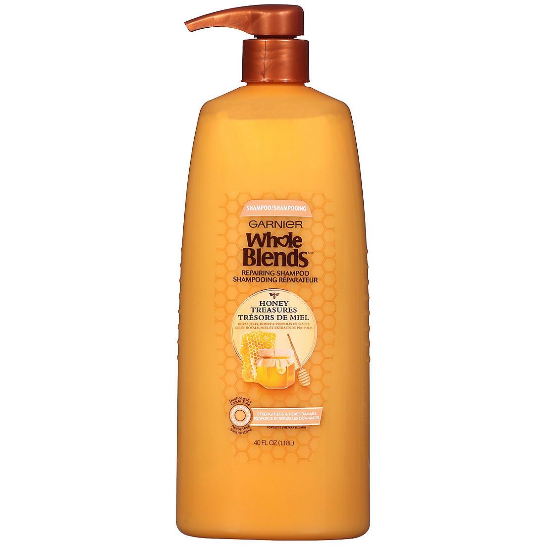 image relating to Garnier Whole Blends Printable Coupon identify Garnier Entire Blends Honey Treasures Correcting Shampoo, 40 fl. oz.