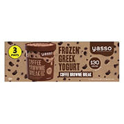 Yasso Coffee Brownie Break Frozen Greek Yogurt, 3 pk.