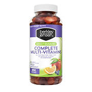 Berkley Jensen Adult Gummy Complete Multi-Vitamins, 250 ct.