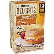 Jimmy Dean Delights Canadian Bacon, Egg White and Cheese Sandwich, 12 ct.