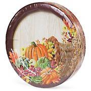 Artstyle Heartland Harvest Plates, 40 ct.