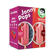 Jonny Pops Raspberry/Blueberry Ice Cream, 10 ct.