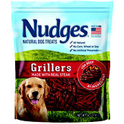 Nudges Natural Dog Treats Steak Grillers, 34 oz.