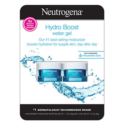 Neutrogena Hydro Boost Water Gel, 2 pk./1.7 fl. oz.