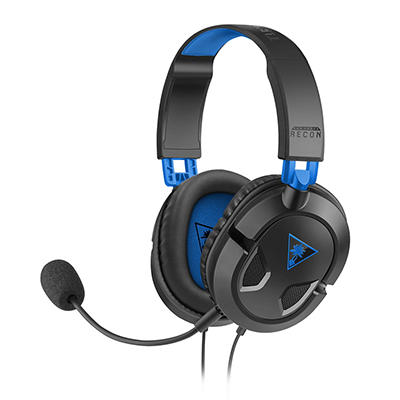 Turtle Beach Ear Force Recon 50P Gaming Headset - Blue