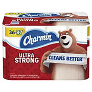 Charmin Ultra Strong Rolls 176-Sheet Two-Ply Bathroom Tissue, 36 ct.