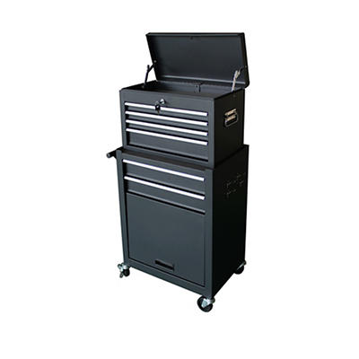 Gstandard 2-Pc. Rolling Tool Storage Chest - Black