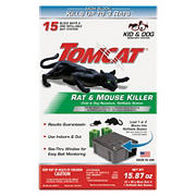 Tomcat Rat and Mouse Killer Bait, 15 ct.