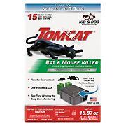 Tomcat Rat and Mouse Killer Bait, 15 ct.