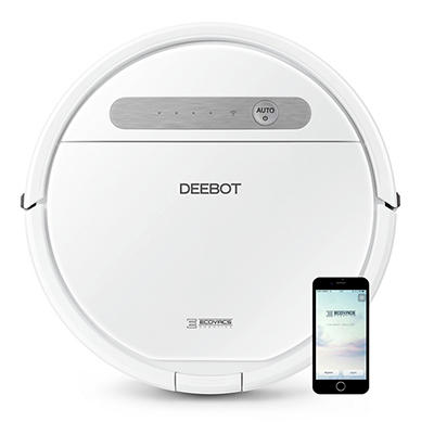 ECOVACS DEEBOT OZMO 610 2-in-1 Multi-Surface Vacuuming and Mopping Rob