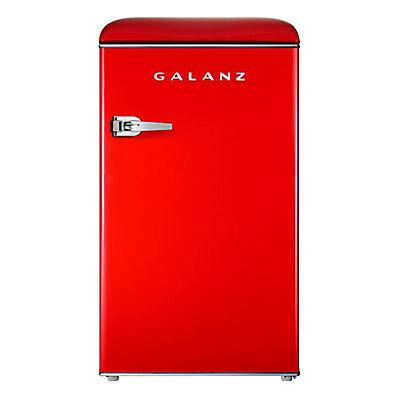 Galanz 3.5-Cu.-Ft. Retro Compact Refrigerator - Hot Rod Red