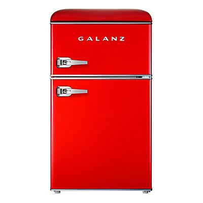 Galanz 3.1-Cu.-Ft. Retro Compact Refrigerator - Hot Rod Red