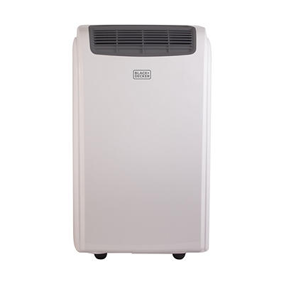 Black & Decker 8,000-BTU 3-in-1 Portable Air Conditioner with Dehumidi
