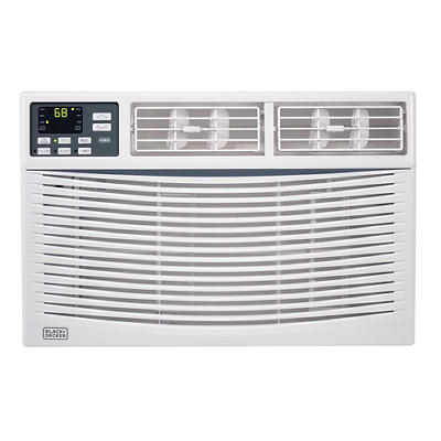 Black & Decker 6,000-BTU 2-in-1 Window Air Conditioner with Fan Functi