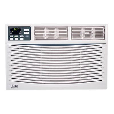 Black & Decker 8,000-BTU 2-in-1 Window Air Conditioner with Fan Functi