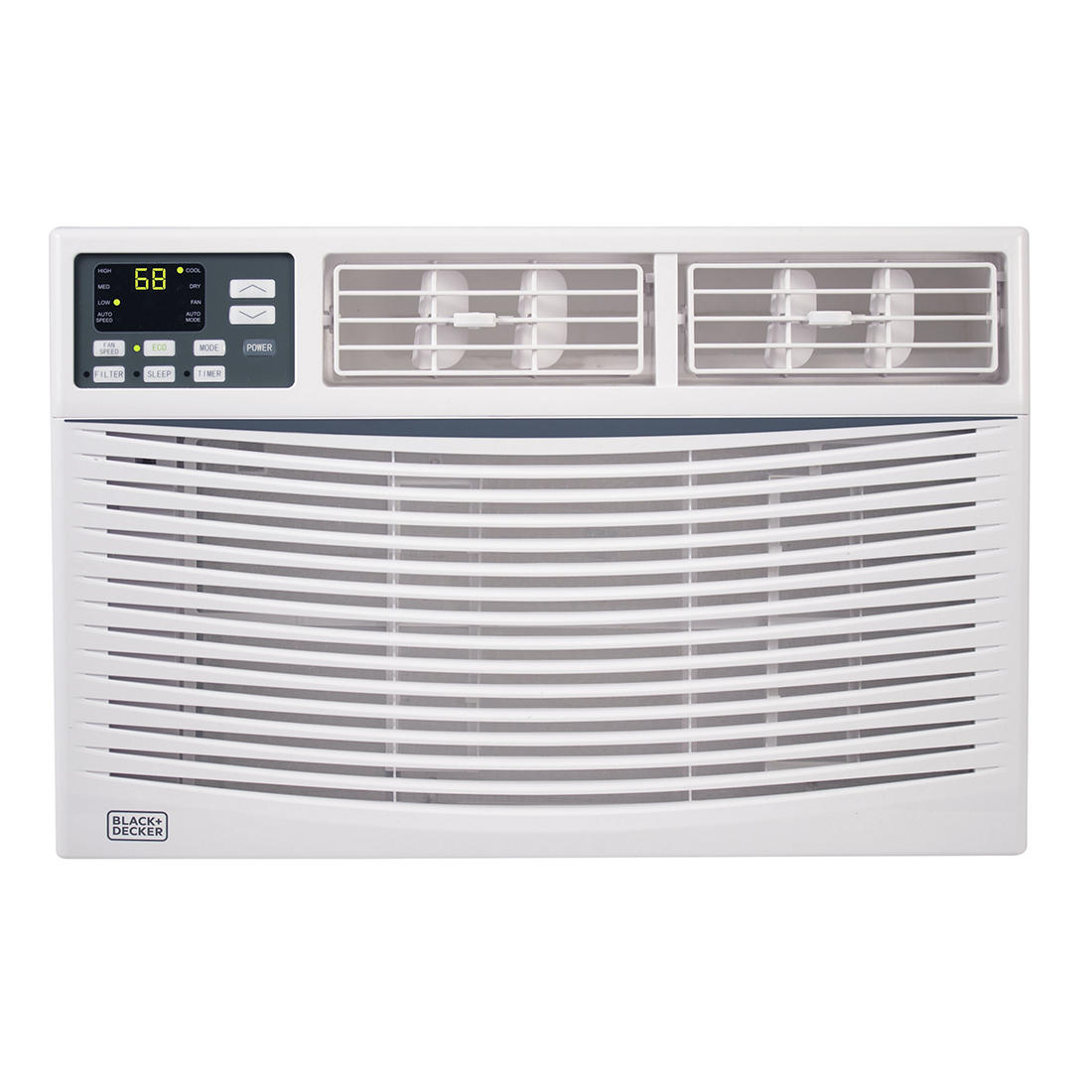 Black & Decker 10,000-BTU 2-in-1 Window Air Conditioner with Fan Function