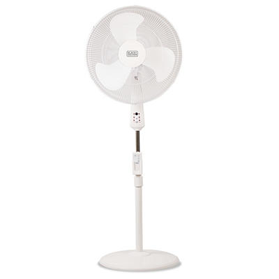 "Black & Decker 18"" Stand Fan with Remote"