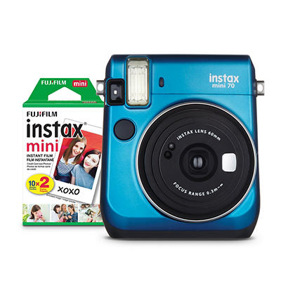 Fujifilm INSTAX Mini 70 with Mini Film - Blue