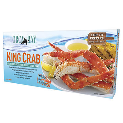 Orca Bay Fully Cooked Crab Legs, 1.75 lbs.