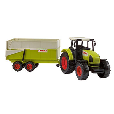 Dickie Toys Farm Tractor with Tipping Trailer