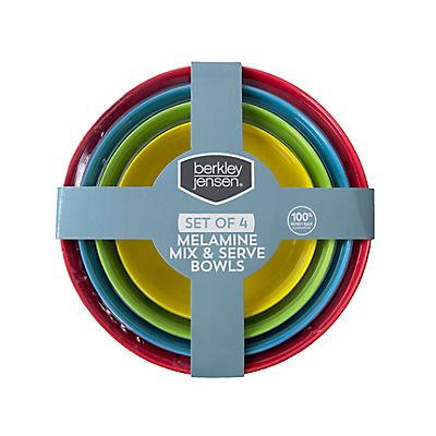 Berkley Jensen 4 Pc. Melamine Mix & Serve Bowls