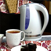 MegaChef 1.7L Plastic Electric Tea Kettle