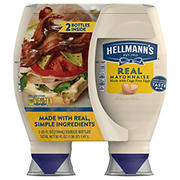 Hellmann's Real Mayonnaise Squeeze Bottle, 2 ct.