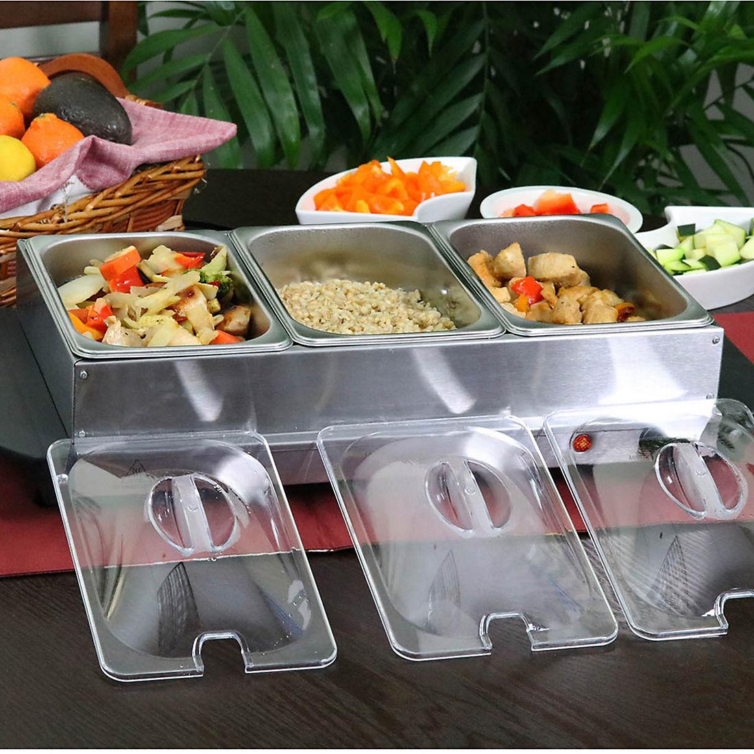 Awe Inspiring Megachef Buffet Server And Food Warmer Interior Design Ideas Apansoteloinfo