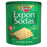 Keebler Export Soda Crackers Tin, 28 oz.