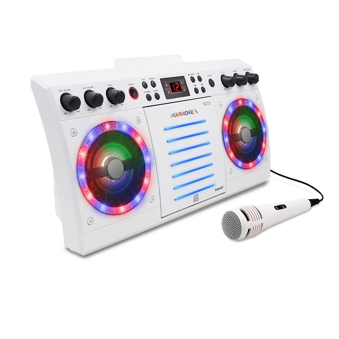 iKaraoke Bluetooth CD&G Karaoke System