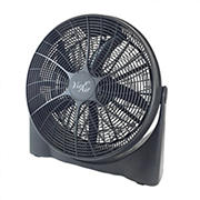 "Vie Air 20"" Lightweight Turbo Floor Fan"
