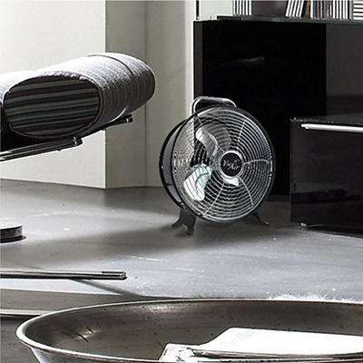 "Vie Air 12"" Retro Metal Drum Fan"