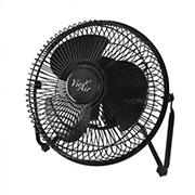 "Vie Air 8"" Metal Desk and Floor Fan"
