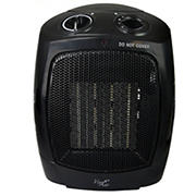 Vie Air 1,500W Portable Dual Setting Square Heater - Black