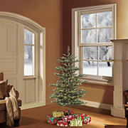 Puleo International 4.5' Pre-Lit Arctic Fir Christmas Tree