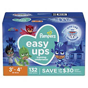 Pampers Easy Ups Training Underwear for Boys, Size 3T-4T, 132 ct.