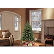 Puleo International 4.5' Pre-Lit Noble Fir Tree